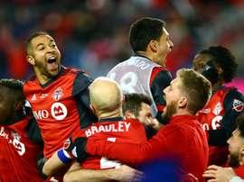 Toronto venció a América por 3-1. AFP