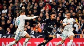 El Madrid estuvo muy cerca de vestir de blanco a Neymar el pasado verano. AFP/Archivo