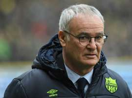 Ranieri could leave Nantes for a position in Italy. AFP