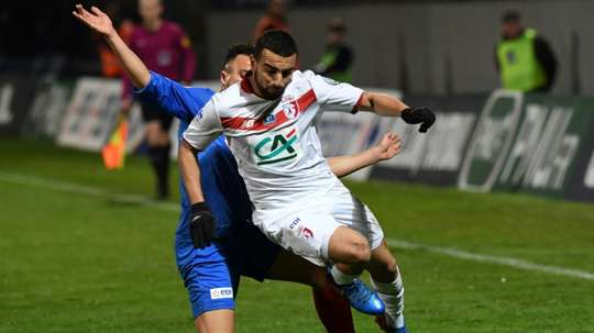 Sliti rejoint Dijon. AFP