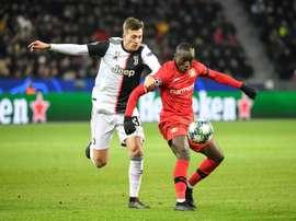 Moussa Diaby, entre Arsenal et le Borussia Dortmund ? AFP