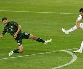 Fin de saison pour Jovetic. AFP
