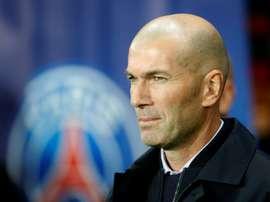 O arrepiante contraste de números na segunda passagem de Zidane. AFP