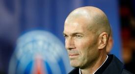 Los números de Zidane ahora no tienen nada que ver con su primera etapa. AFP