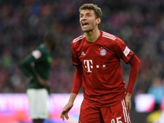 Muller évoque la fin de saison. AFP