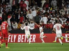 La Chine s'est difficilement qualifiée pour les quarts de finale. AFP