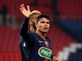Thiago Silva descansará contra o Montpellier. AFP