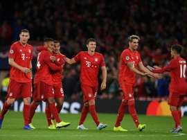Bayern de Munique - Tottenham: onzes iniciais confirmados. AFP
