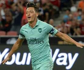 Large victoire d'Arsenal contre Paris. AFP