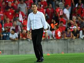 Rudi Garcia est heureux de sa prolongation. AFP
