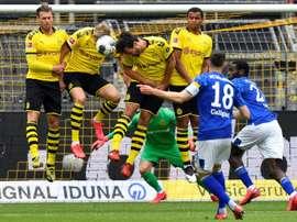 A estranha nova realidade do futebol. AFP