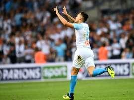 Ocampos brilló con luz propia. AFP