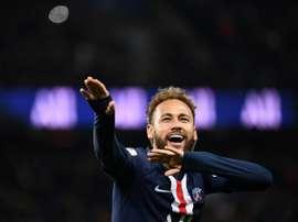 Neymar, un poco más cerca. AFP