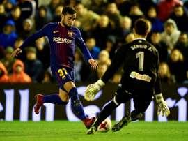 Le Barça n'a pas su se défaire du Celta. GOAL