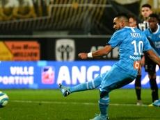 Ligue 1: Marseille, solide dauphin, s'impose sans forcer à Angers. AFP