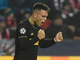 Barça's convincing methods: 12M a year for Lautaro . AFP