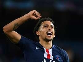 Marquinhos devrait rentrer en France. AFP