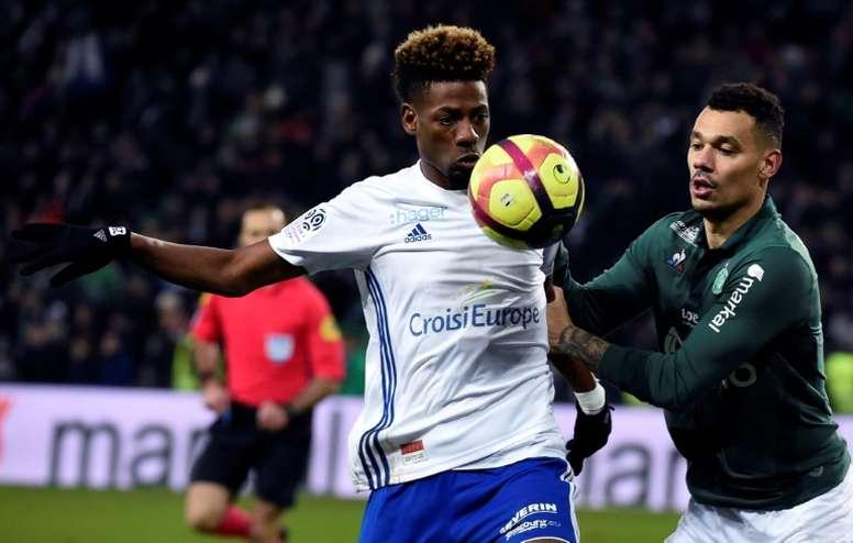 Saint Etienne retrouve la victoire. AFP