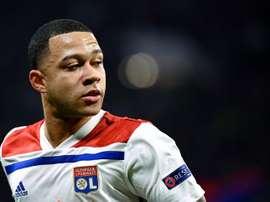 Dos goles en cuatro meses para el jugador que sueña con ir a Madrid, Barça, City o PSG. AFP