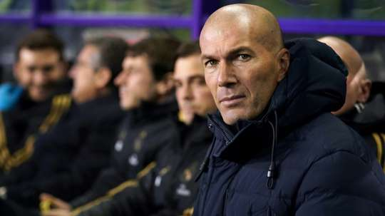 A Real destruiu o castelo de Zidane. AFP