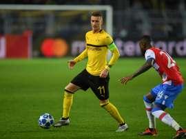 Dortmund n'a pas brillé. AFP