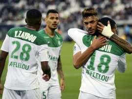 Les compos probables du match d'Europa League entre Saint-Etienne et Oleksandria. AFP