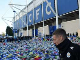 L'attaquant de Leicester Jamie Vardy. AFP
