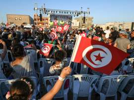 En Tunisie, c'est la fête. AFP