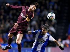 Le Barça officiellement champion. AFP