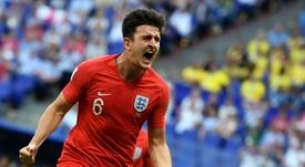 O United transformará Maguire no zagueiro mais caro da história. AFP