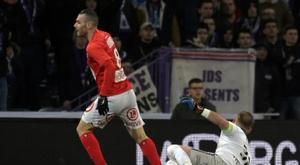 Les compos probables du match de Ligue 1 entre Brest et Amiens. AFP