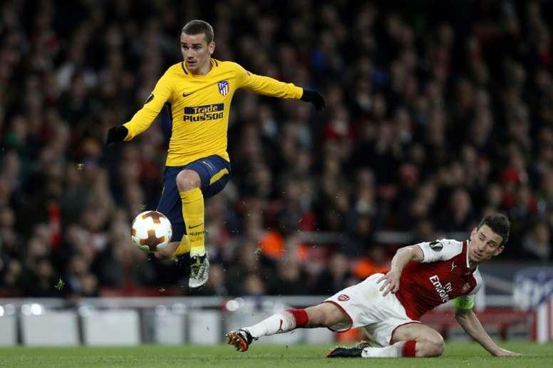 Griezmann estaría cerca del Barcelona. AFP