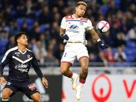 L'attaquant néerlandais de Lyon, Memphis Depay. Goal