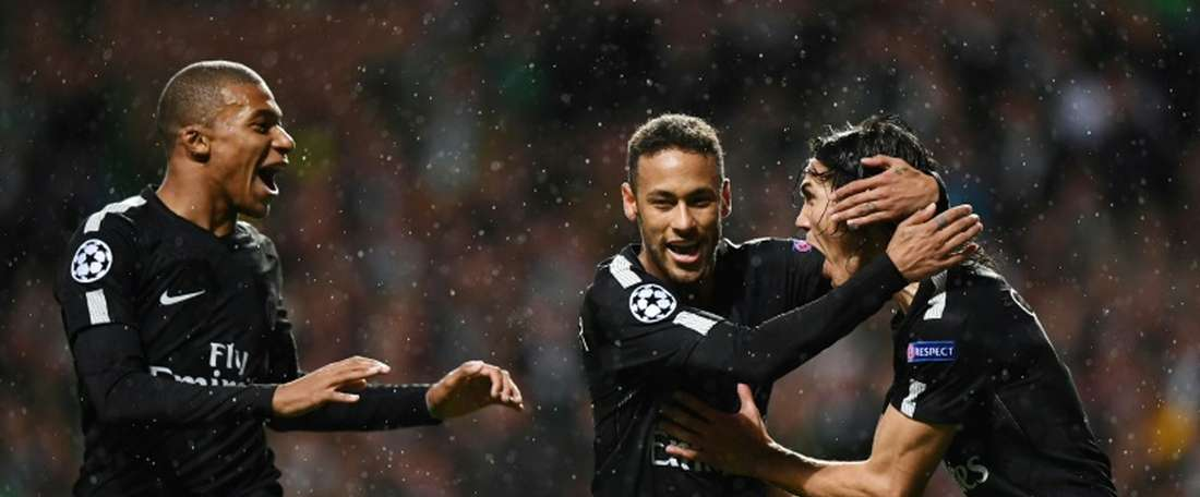 Neymar's behaviour towards the teenager showed a lack of humility. AFP