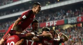 Pepe é um dos que pode falhar o Mundial. AFP