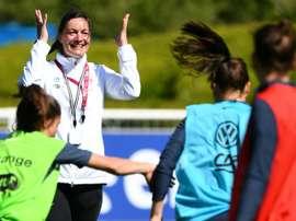 Diacre apprécie l'apport des Lyonnaises dans l'équipe. AFP