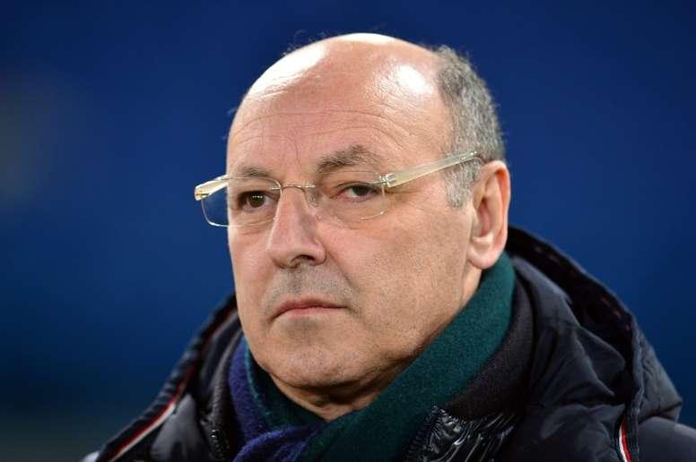 Marotta mostró su confianza en Spalletti. AFP