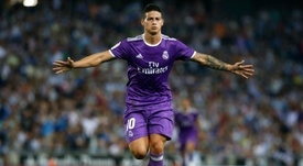 James Rodriguez's Real Madrid departure could be confirmed later this week. AFP