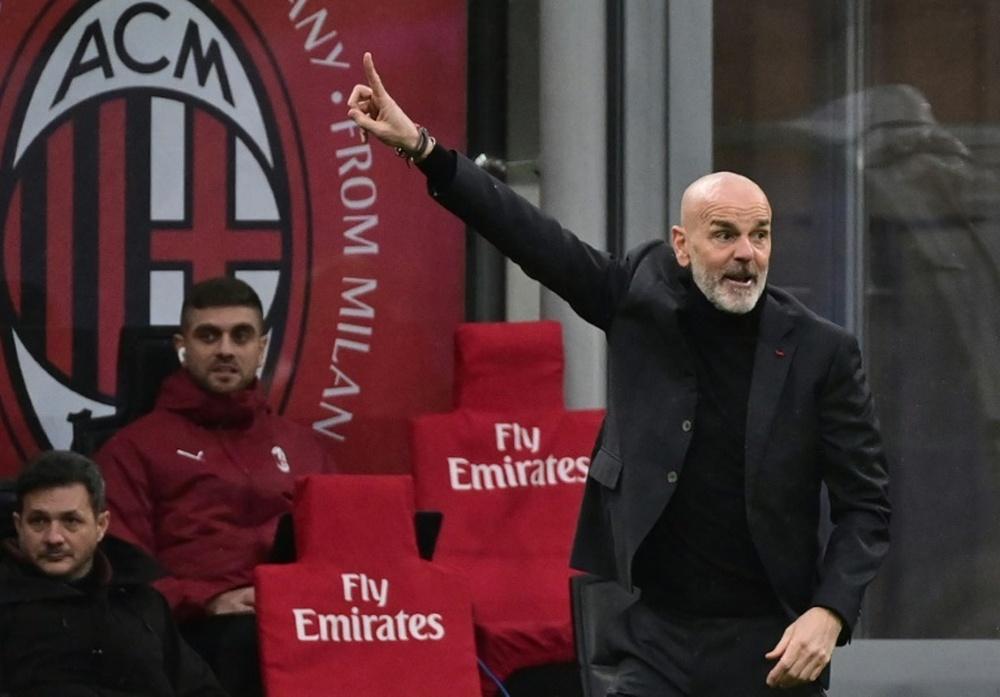 Pioli recusou ser o sucessor de Mou no Tottenham. AFP