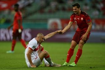 Freuler dio como favorita a España. AFP