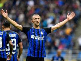 Perisic helped Inter to a 2-0 win. AFP