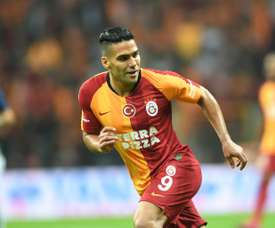 Falcao wants to show his worth at Galatasaray. AFP