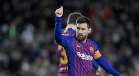 Leo Messi, jogador do Barcelona. EFE