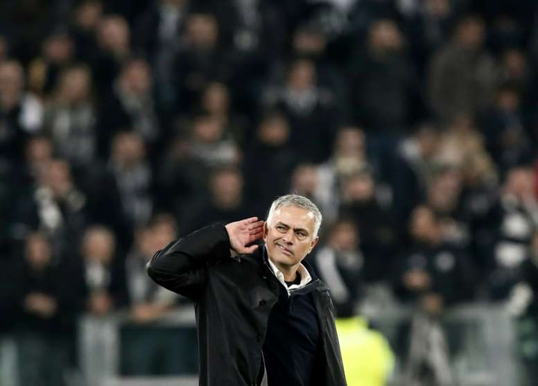 Mourinho's side got the win. AFP