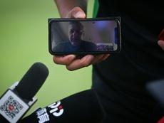 Quand Genesio commente les entraînements du Beijing Goan depuis la France. AFP