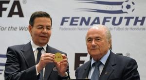 Mort de l'ex-président hondurien Callejas, impliqué dans le Fifagate. AFP