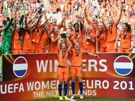 Four-goal Dutch win women's Euro for first time. AFP