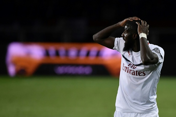 Bakayoko está perto de voltar ao Milan. AFP