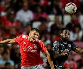 Ruben Dias, sur les tablettes de Manchester City. AFP