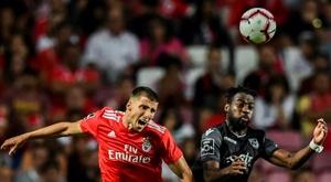 O Benfica avança na renovação de Rúben Dias. AFP